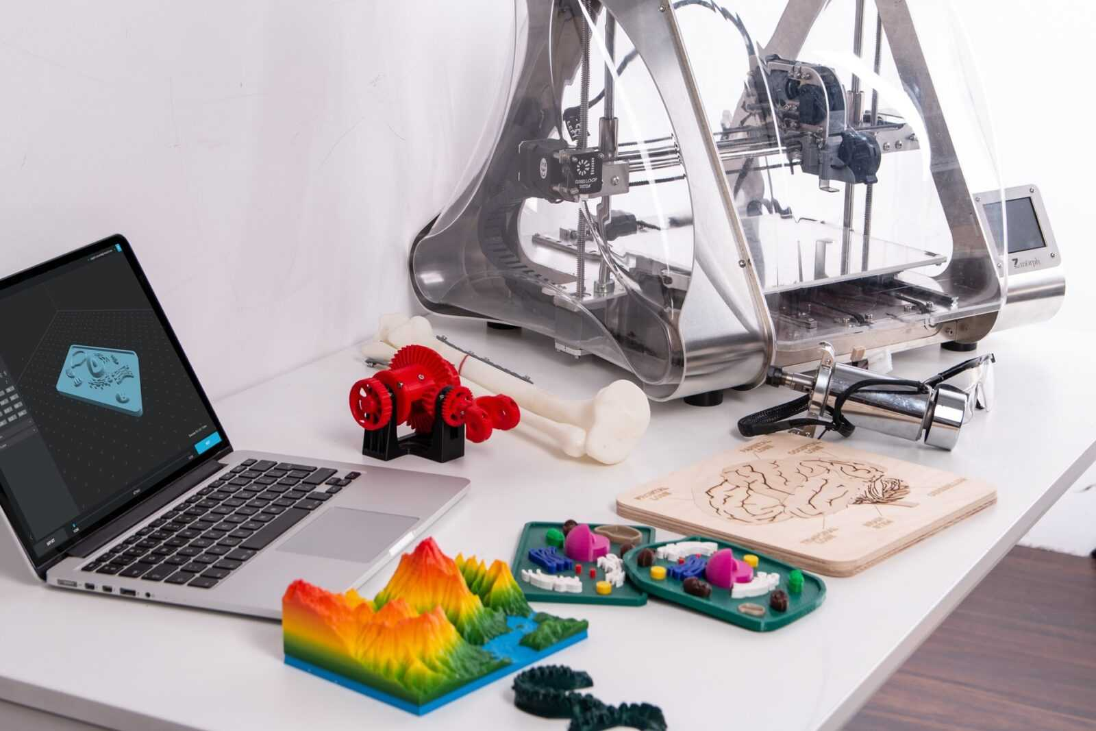 Druk w 3D w drukarni 3D